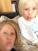Moi and Caitlyn - funny faces!